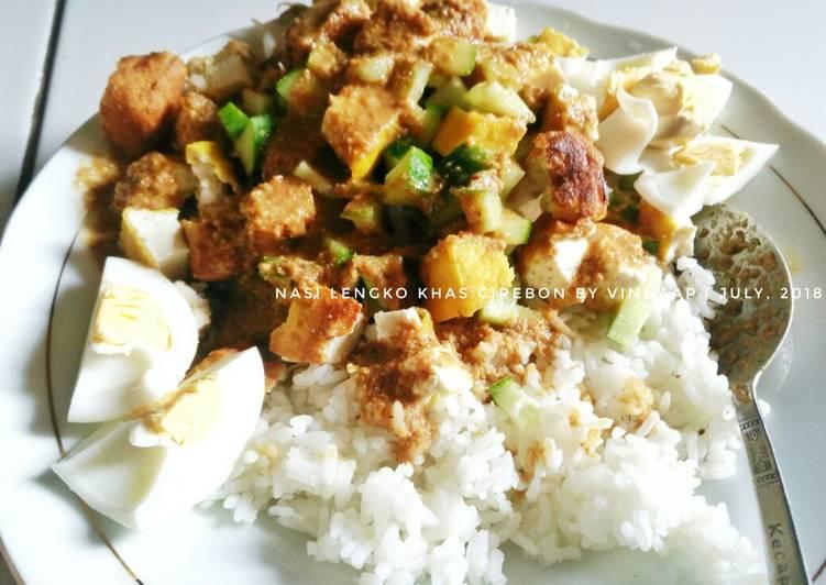 Cara Mudah membuat Nasi Lengko Khas Cirebon ala resto