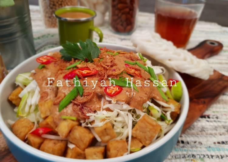 Cara mengolah Nasi Lengko (khas cirebon) ala resto