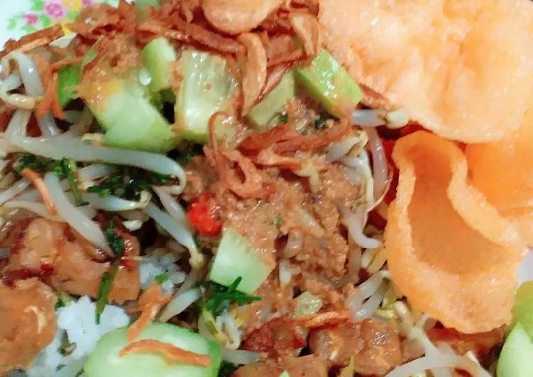 Nasi Lengko Cirebon / Lengko Sayur