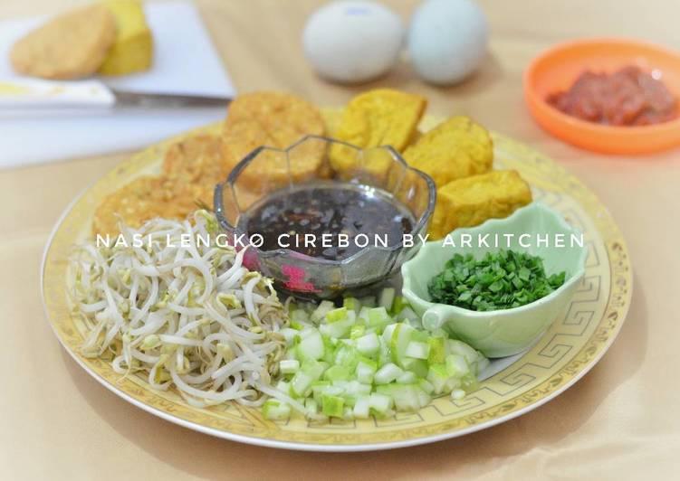 Cara memasak 6. Nasi Lengko khas Cirebon ala ArKitchen lezat