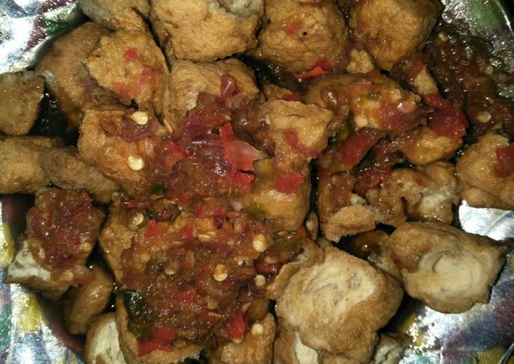 Cara memasak Tahu Gejrot rumahan