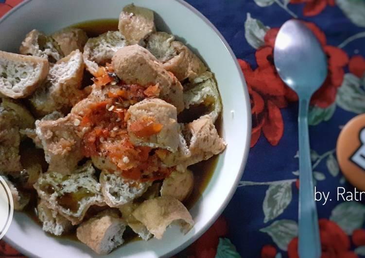 Cara Mudah memasak Tahu Gejrot 2 yang bikin ketagihan