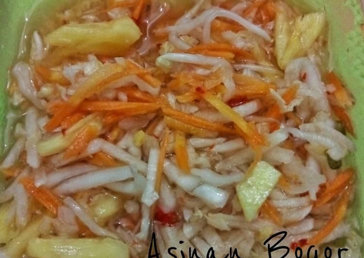 Cara Mudah memasak Asinan Bogor (asinan campur)