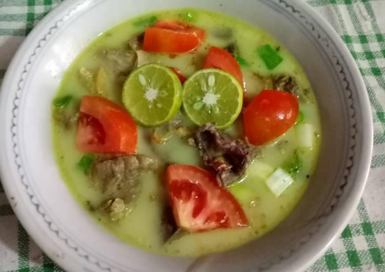 Cara Mudah memasak Soto Bogor (daging- paru) istimewa