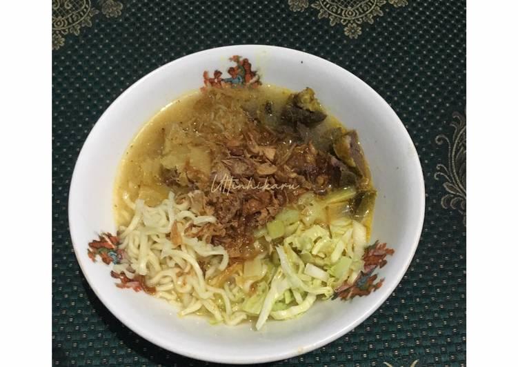 103. Soto Mie Bogor dengan Paru Goreng #ComBoNgabibita_SotoMie #CookpadCommunity_Bogor