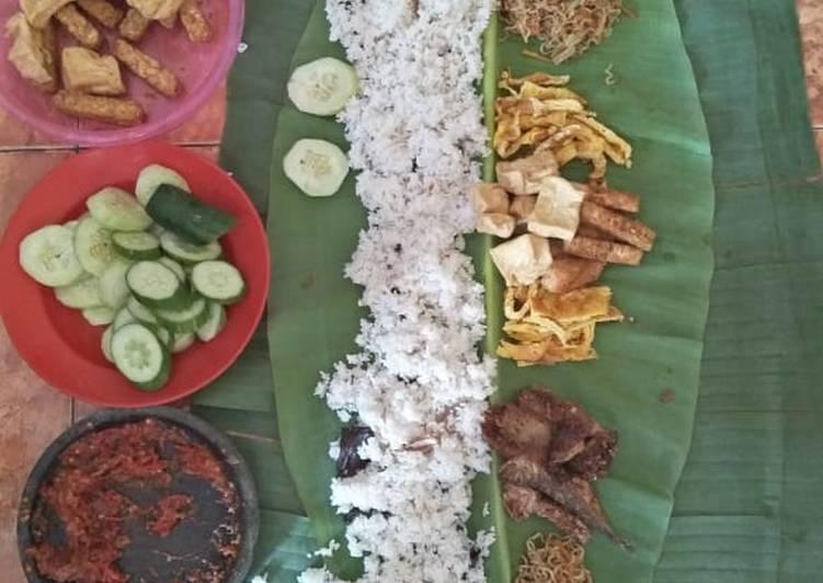 Nasi liwet Bogor