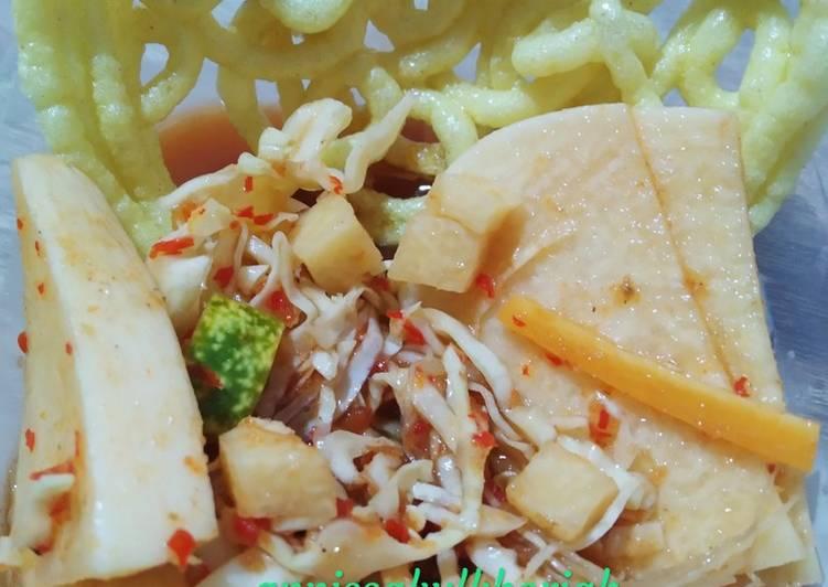 Cara Mudah memasak Asinan Sayur ala Bogor Suegerrrrr