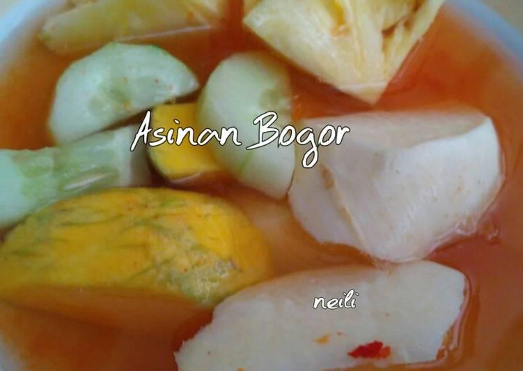 Resep memasak Asinan Bogor yang bikin ketagihan