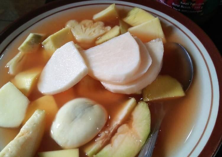 Resep: Asinan buah khas bogor lezat