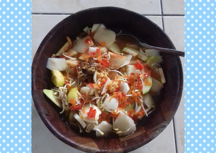 Cara Mudah memasak Asinan Bogor yang bikin ketagihan