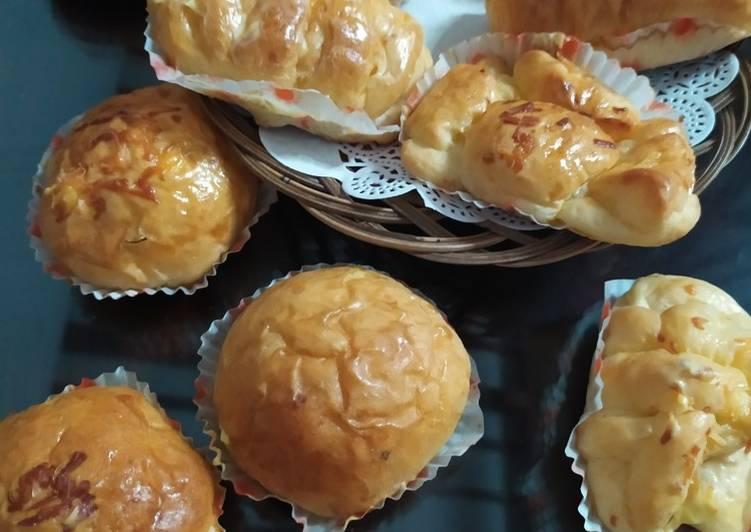 Cara Mudah membuat Roti unyil metode autolisis