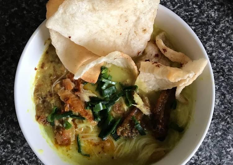Cara memasak Soto Medan ala Mama Loish yang menggugah selera