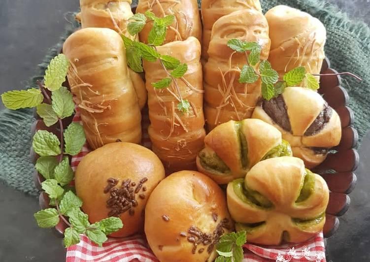 Roti Unyil (Aneka Filling)