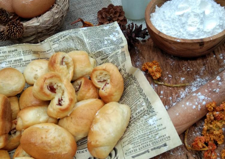 Cara Mudah mengolah Roti Unyil... empuk.