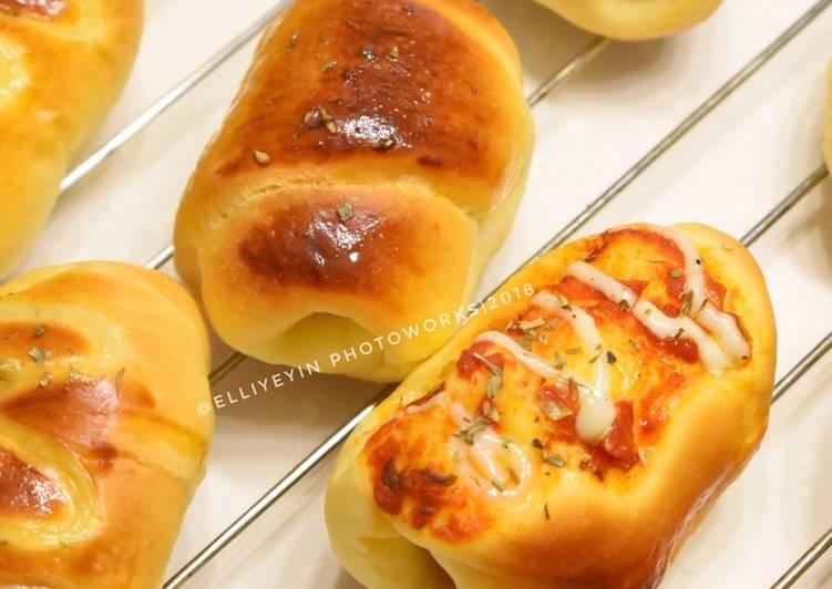 Resep: Roti Unyil isi sosis enak