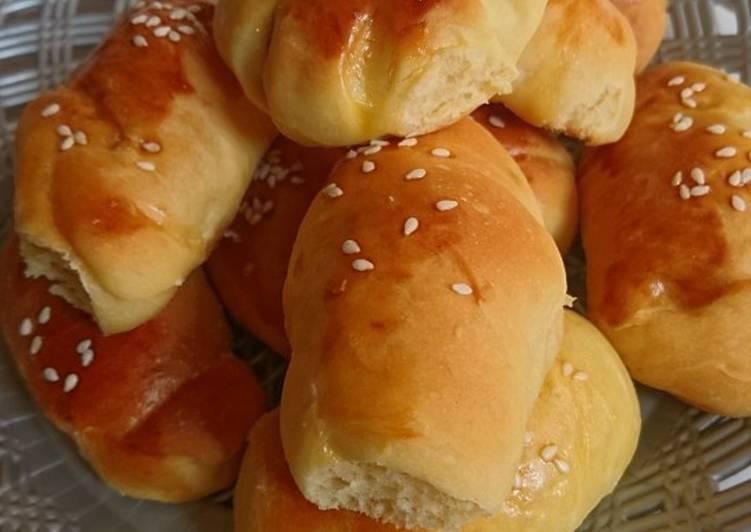 Resep: Roti unyil isi sosis istimewa