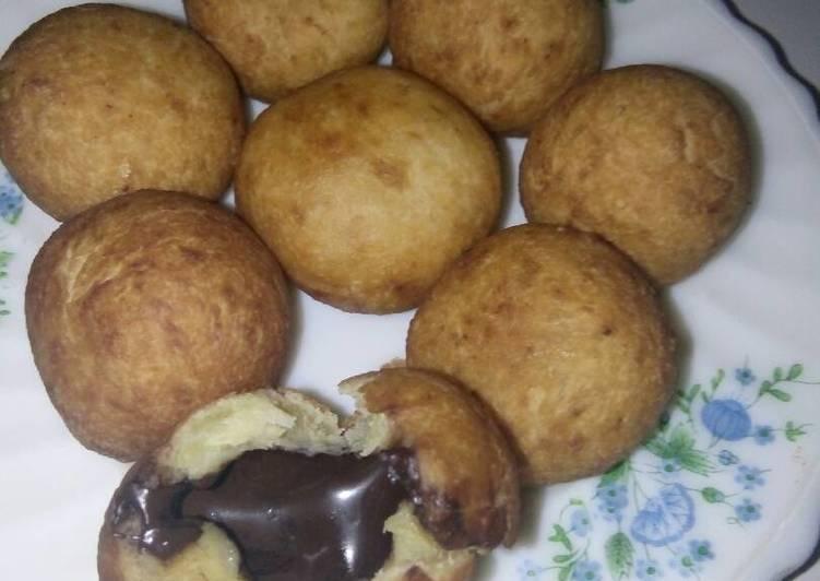 Resep memasak Roti unyil isi coklat no telur yang bikin ketagihan