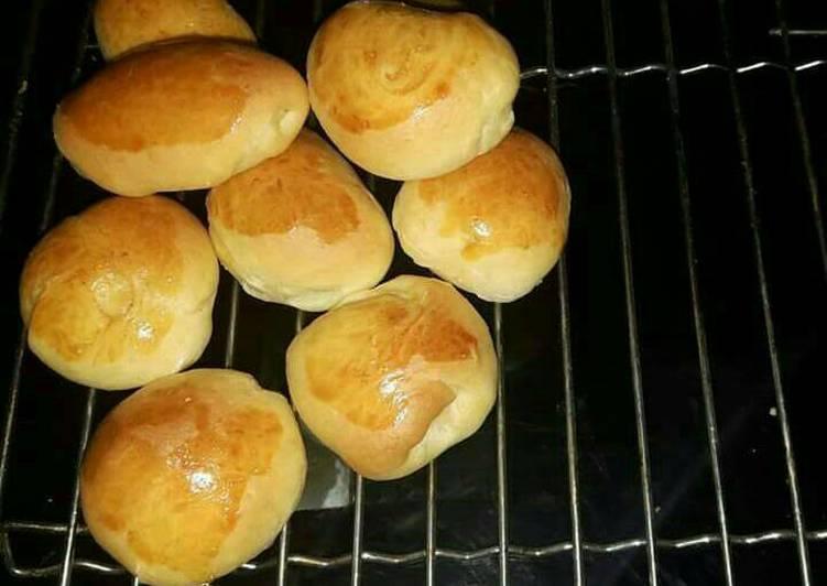 Cara Mudah mengolah Roti Unyil No-Knead yang menggugah selera
