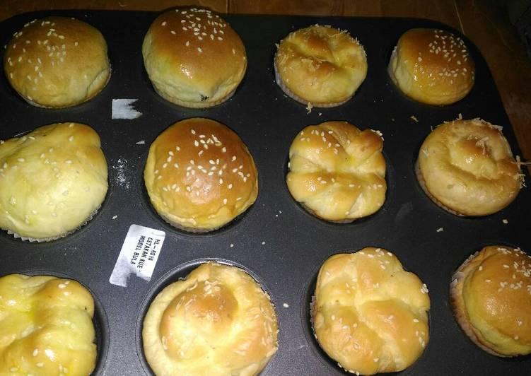 Resep: Roti unyil empuk sedap