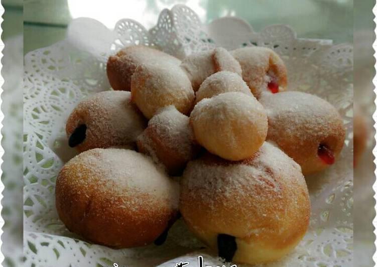 Resep: Roti unyil 🍞🍩 aka super fluffy doughnut yang bikin ketagihan