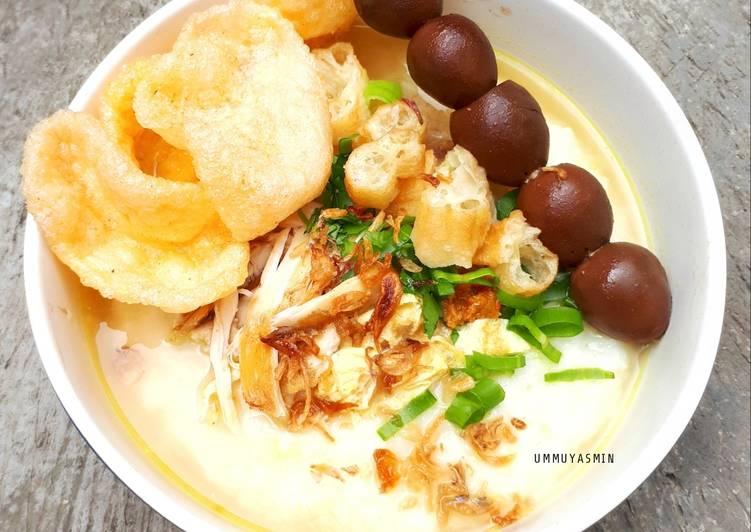 Resep: Bubur Ayam Sukabumi (Ricecooker) yang menggugah selera