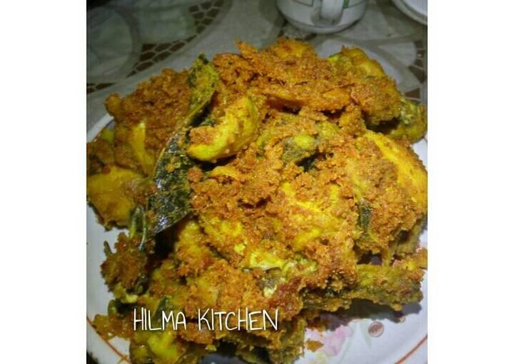 Cara membuat Ayam goreng sukabumi enak