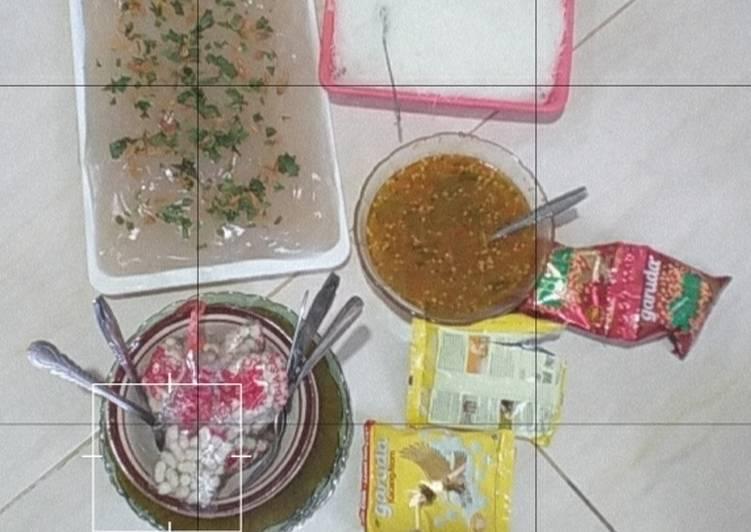 Resep: Ciwang, bihun dan sambal yang menggugah selera