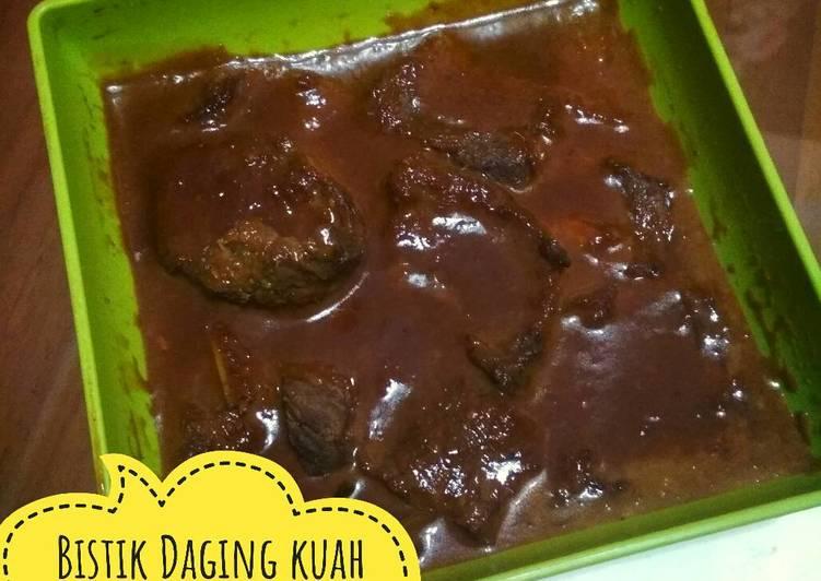 Resep: Bistik daging berkuah ala Nenek Sukabumi 😂 yang menggugah selera