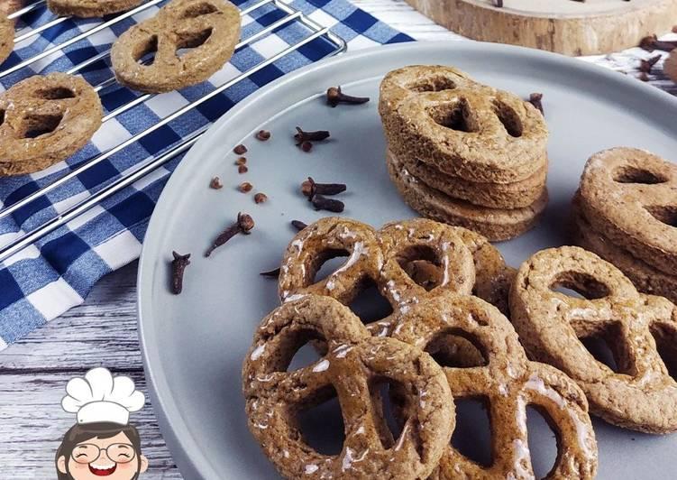 Resep: Vegan Ginger Cookies alaMetut yang menggugah selera