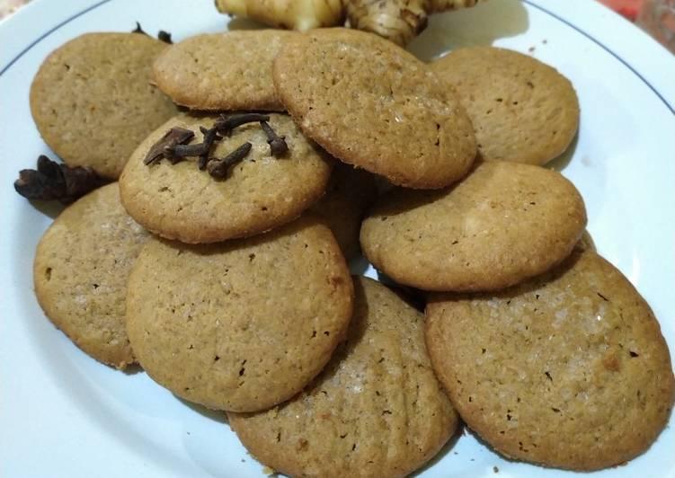 Resep: Ginger cookies... (Cookies jahe) yang bikin ketagihan