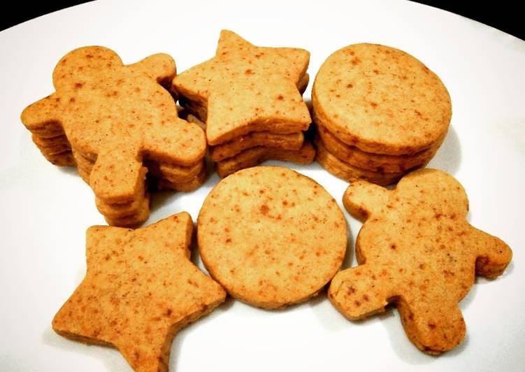 Resep mengolah Kukis jahe (gingerbread cookies) istimewa