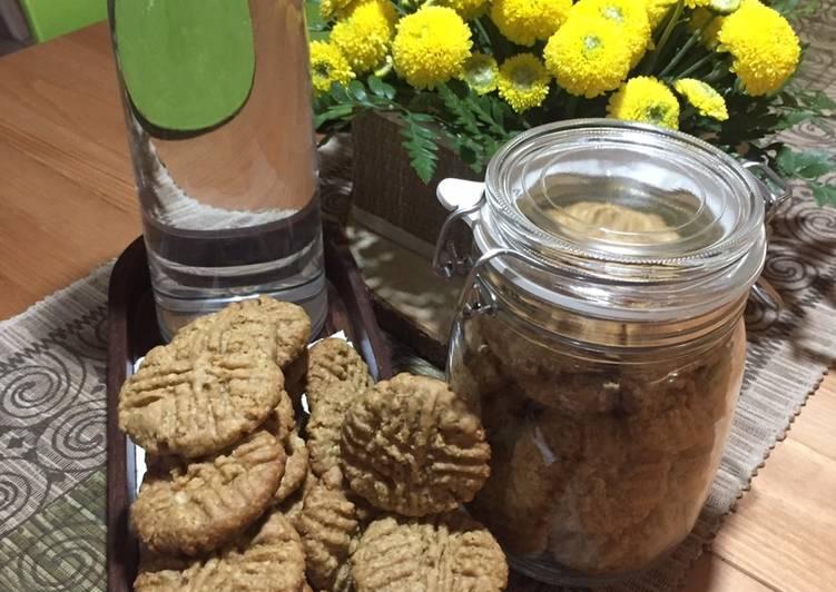Resep: Ginger oat cookies sedap