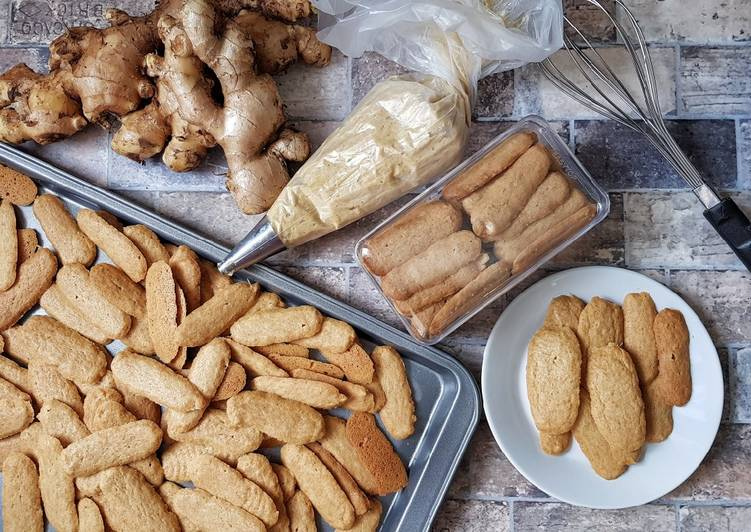 Resep: 7#👌Ginger cookies lezat