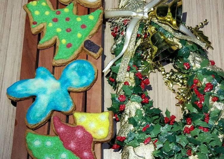 Cara membuat Kue kering jahe / Gingerbread man cookies