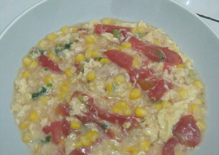 Resep: Rice cooker #1: egg drop soup lezat