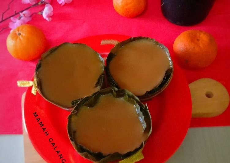 Cara mengolah Kue Keranjang yang bikin ketagihan