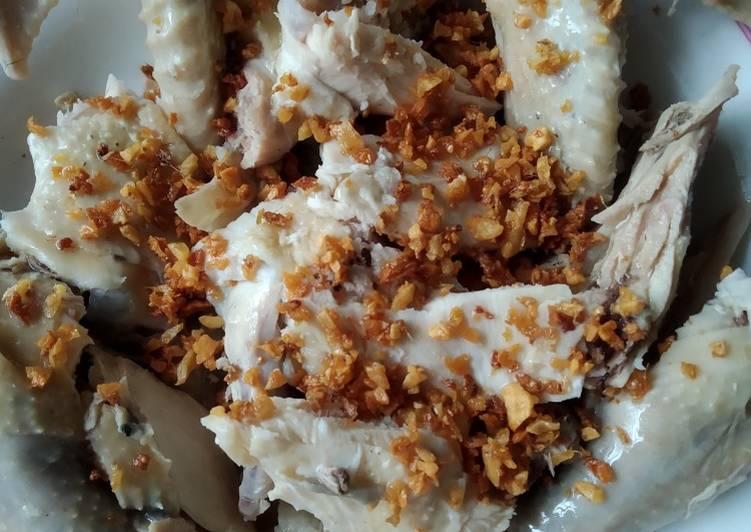 Resep: Pak cam kue (ayam rebus) yang bikin ketagihan