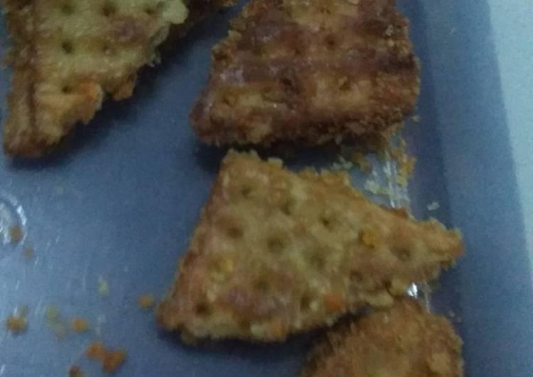 Cara membuat Kue Gabin isi Kentang wortel dan daging ala Raditya yang menggugah selera