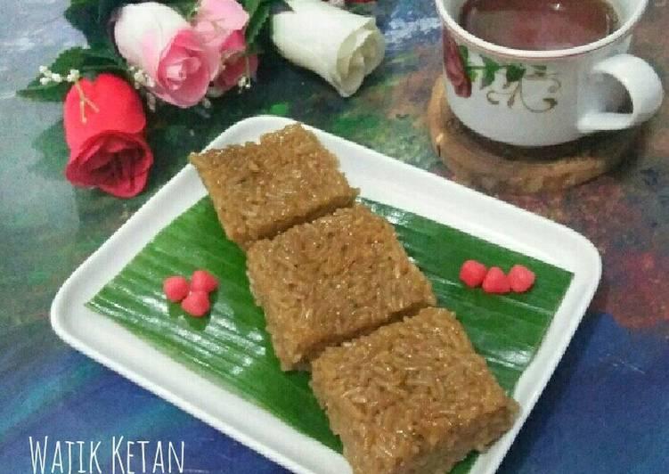 Wajik Ketan Ala Siti Nurjanah