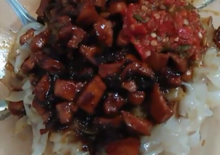 Cara Mudah memasak Kue tiaw ayam enak