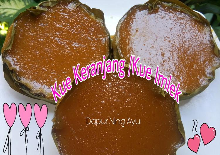 82. Kue Keranjang/ Kue Imlek