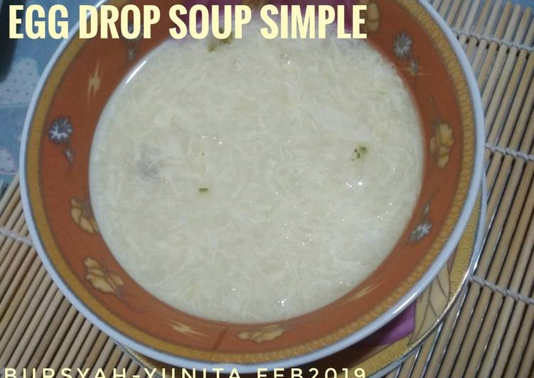 Egg Drop Soup Simple