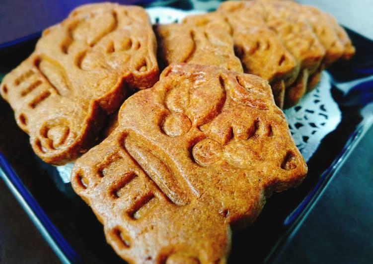 Cara Mudah memasak Gingerbread cookies Ed imlek sedap