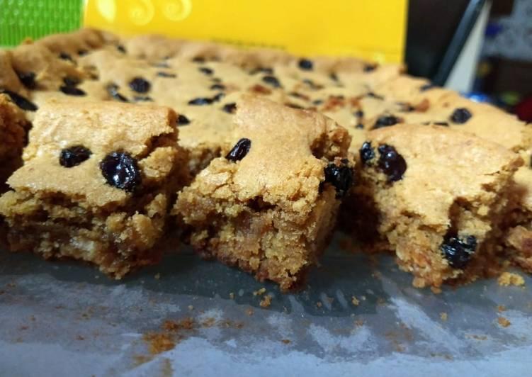 Blondie-Brownies #KusukaNGEMIL #pekaninspirasi #cookpadcommunity