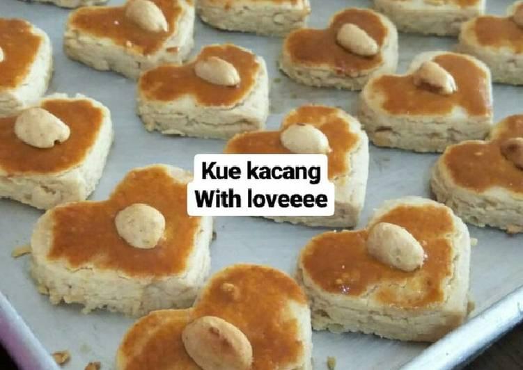Cara membuat Kue kacang jadul sedap