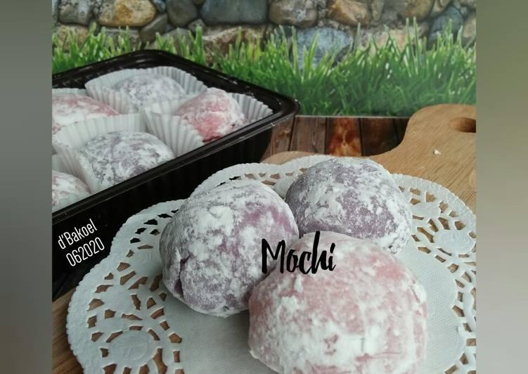 Resep mengolah Mochi isi coklat oreo enak