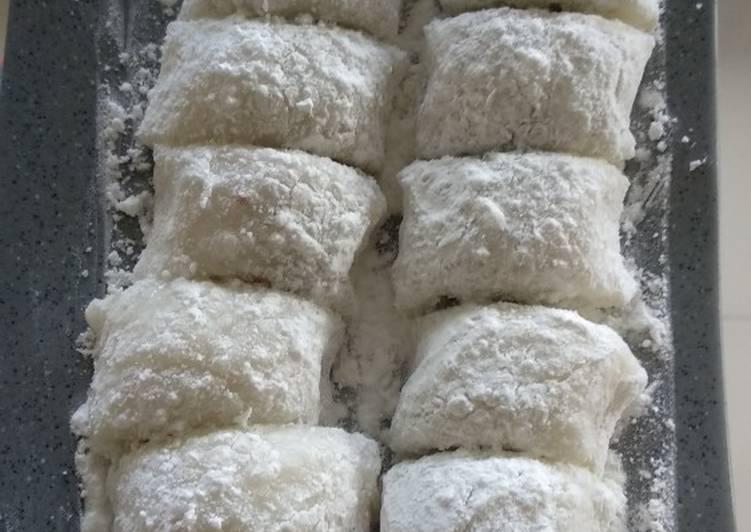 Resep: Mochi gulung ala resto