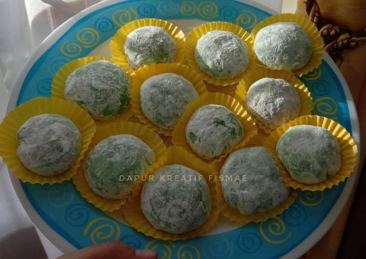 Resep: Mochi isi kacang tanah enak, mudah dan anti gagal yang menggugah selera
