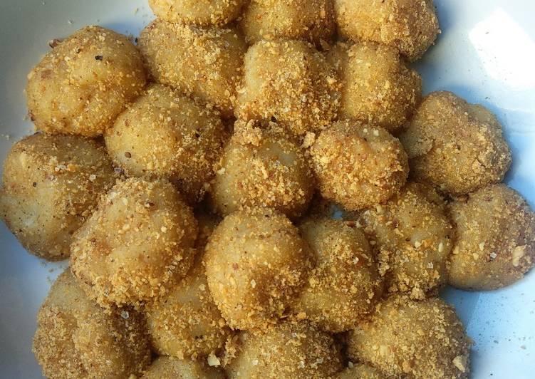 Mochi Tabur Kacang Sederhana
