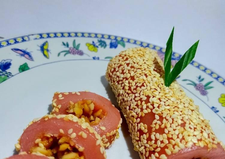 Resep membuat Mochi roll yang menggugah selera